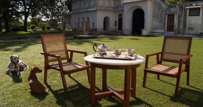 Garden area, Shahpura Bagh, Shahpura, India