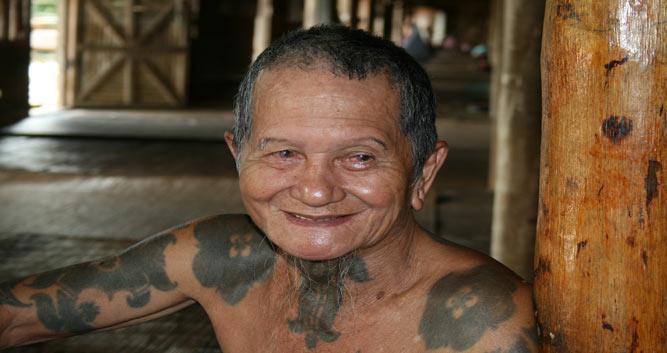 Local Villager, Kuching, Sarawak, Borneo