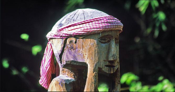 Tribal statue, Eastern provinces, Cambodia