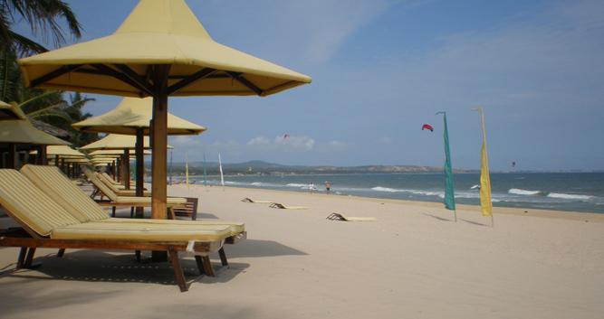 Beach at Phan Thiet, Vietnam