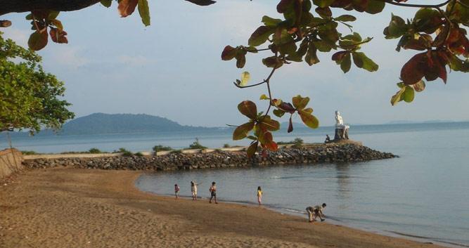 Beach at Kep, Cambodia