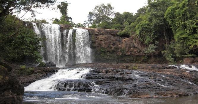 Waterfall, Eastern provinces, Cambodia