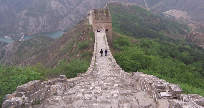 perspective-shot-Great-Wall-of-China