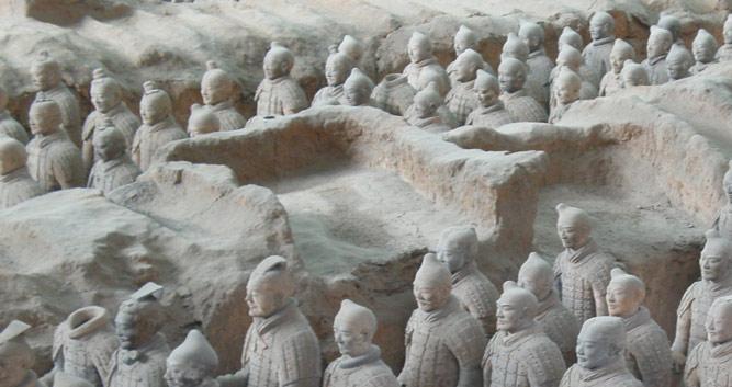 3. The Terracotta Warriors, Xian in Luxury China Travel