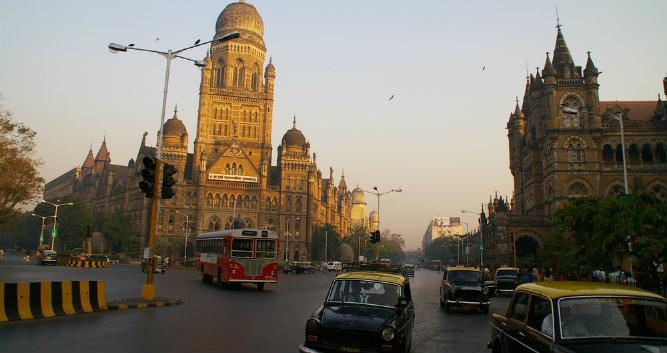 City centre, Mumbai, India