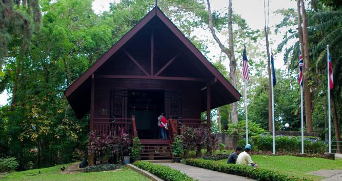 Building Sandakan, Sabah, Borneo