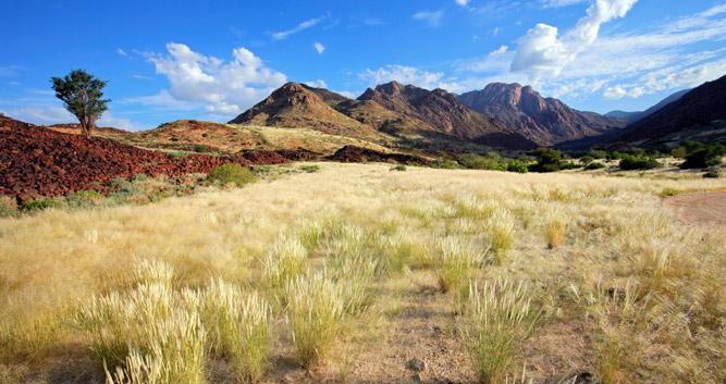 Brandberg Mountain Range