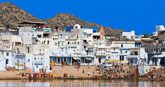 City of Pushkar, Rajasthan, India
