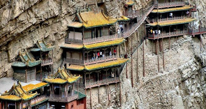 Hanging-Monastery-Datong-Shanxi-Province-China