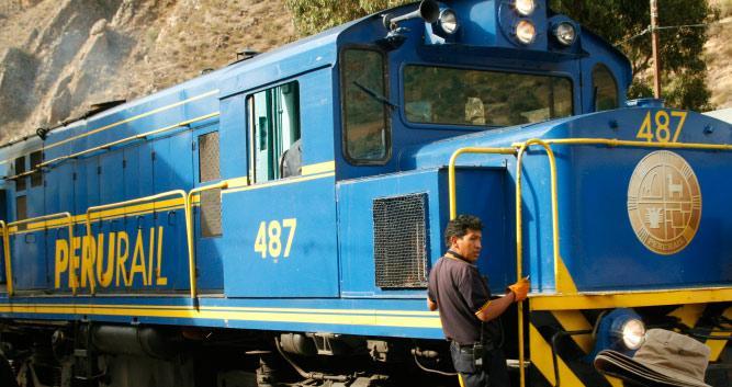 train to Agua Calientes