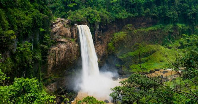 Ekom Nkam and Metche Falls