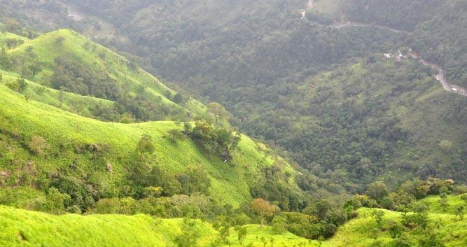 Beautiful mountain view, Ella, Sri Lanka