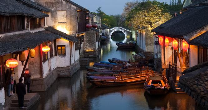 Grand Canal, Water Village, China