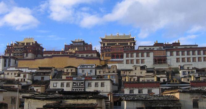 Gadan Songzanlin, Yunnan, China