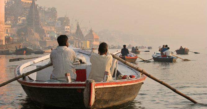 The River Ganges, Varanasi, India