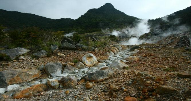 Owakudani, sulphur quarry in Hakone - Luxury Japan Tours