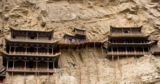close-up-Hanging-Monastery-Datong-Shanxi-Province-China