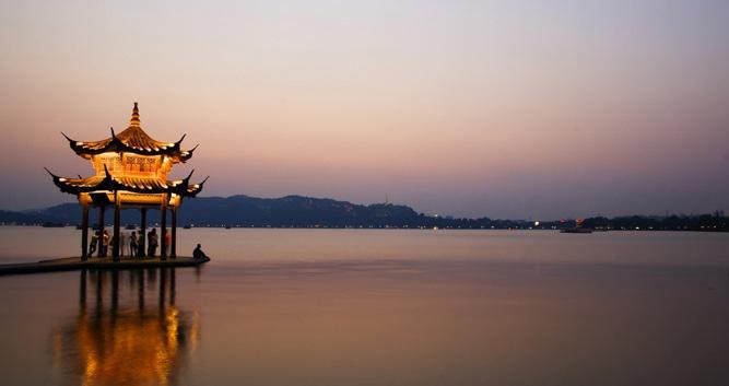 West Lake, Hangzhou in Luxury Travel China