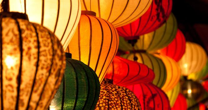Colourful lanterns, Hoi An, Vietnam