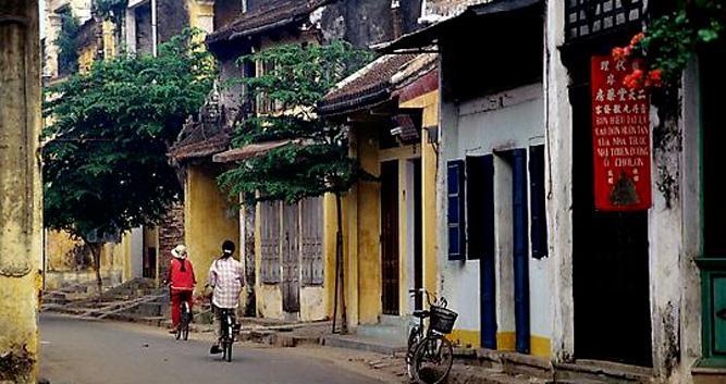 Street scene, Hoi An, Vietnam