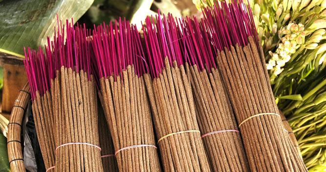 Incense sticks, Hue, Vietnam