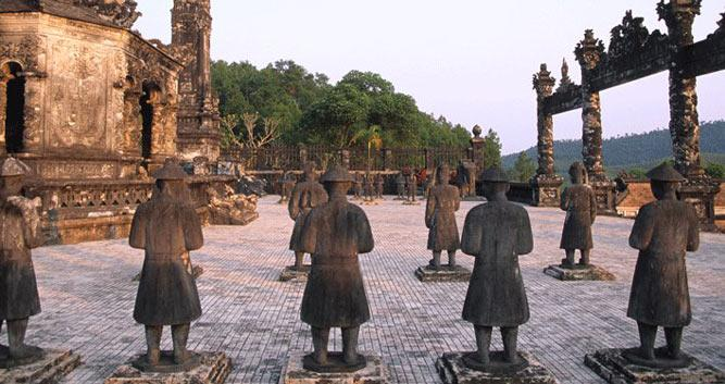 Tu Duc Tomb, Hue, Vietnam
