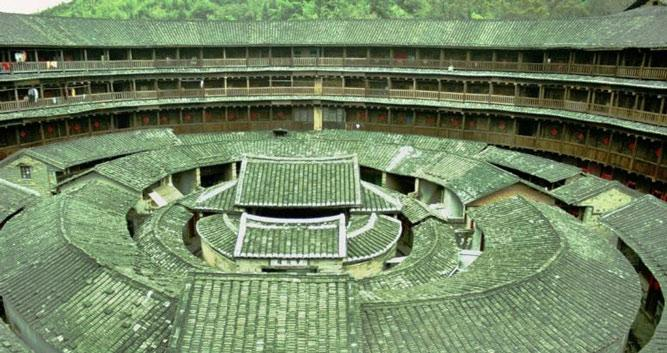 4. Hakka Tulou earth dwellings, near Xiamen in Luxury China Travel