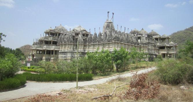Temple exterior, Ranakpur, India