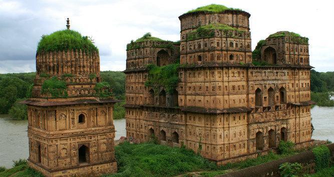 Temple, Orchha, Madhya Pradesh, India