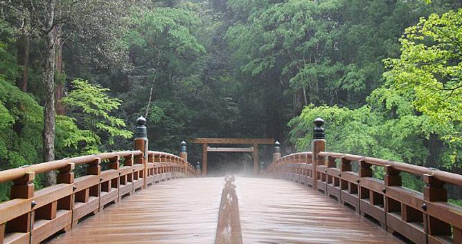 walking to the Ise Shrine - Ise - Luxury Japan Tours