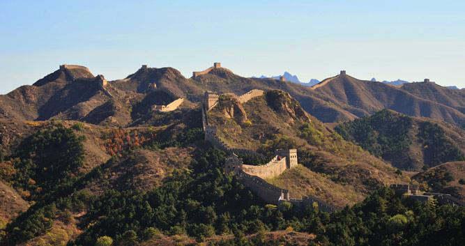 Jin Shan Ling Great Wall near Chengde, in Luxury China Travel