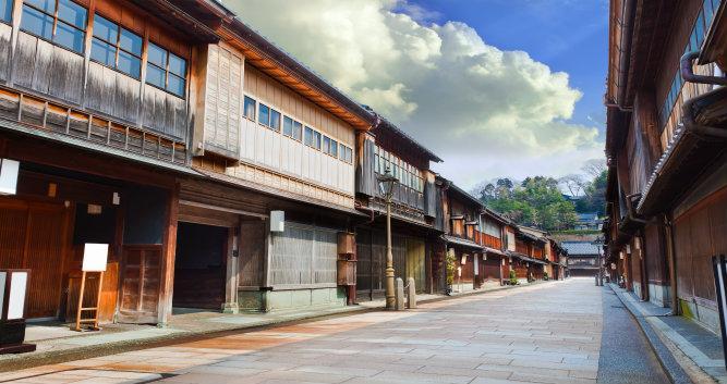 Keisha village at Kanazawa