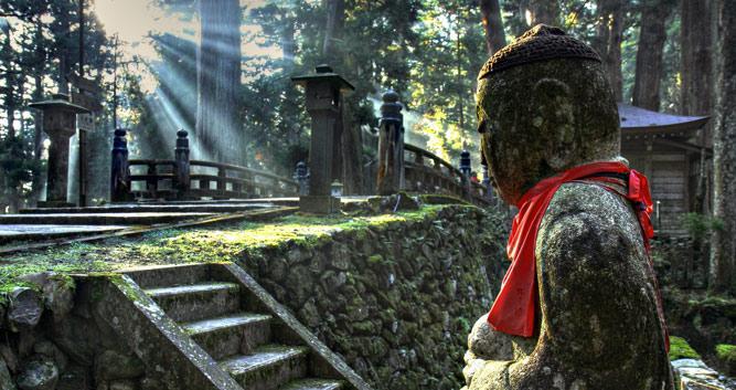 Okunoin Cemetery, Koya San, Japan