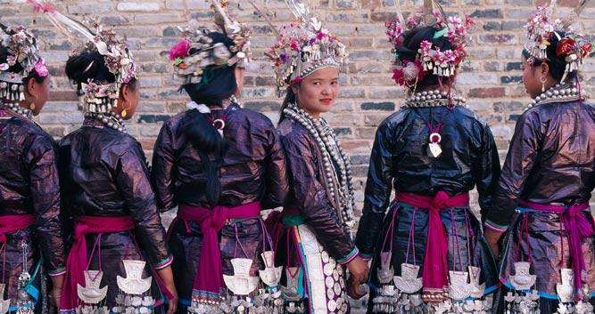 Longsheng, local tribal women, in China Luxury Travel