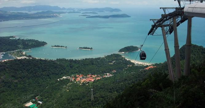 Cable car, Langkawi, Malaysia