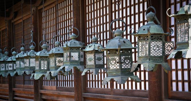 Lanterns in Nara Temple - Luxury Japan Travel and Tours -
