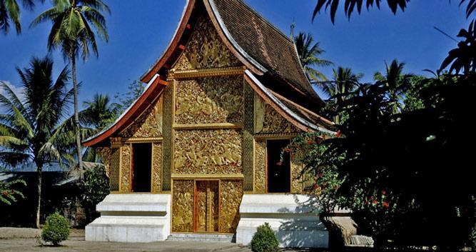 Temple, Laos Prabang, Laos
