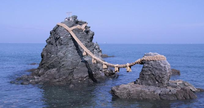 Marriage Rock  - Ise - Luxury Japan Tours
