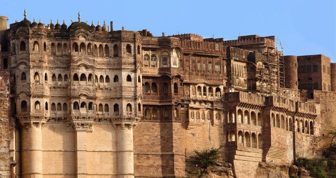 Meherangarh fort, Jodhpur, India