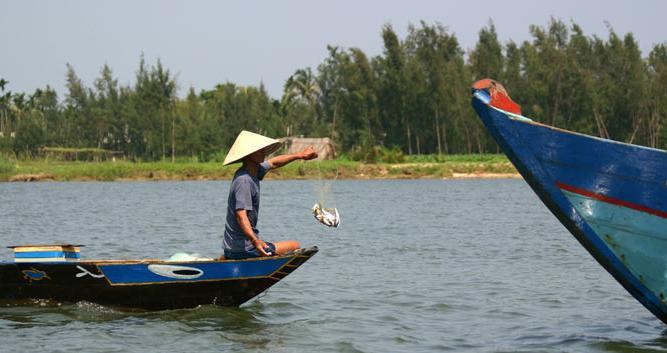 Local fisherman, Mekong Delta, Vietnam
