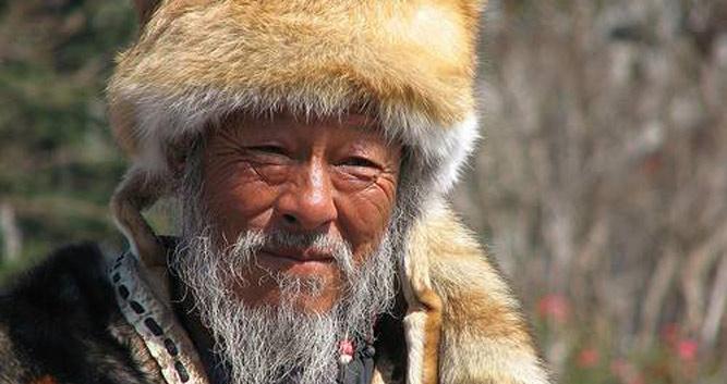 Naxi Tribal leader, Lijiang, Yunnan, China