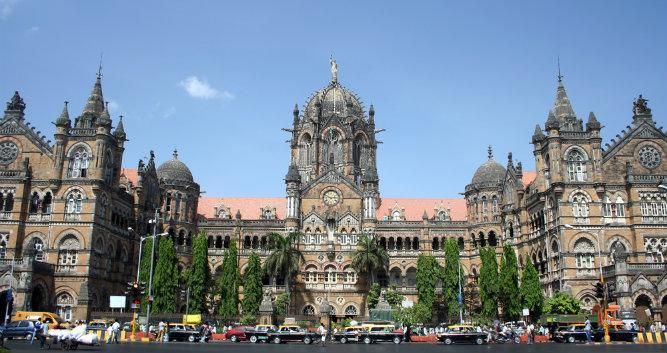 Old train station, Mumbai, India