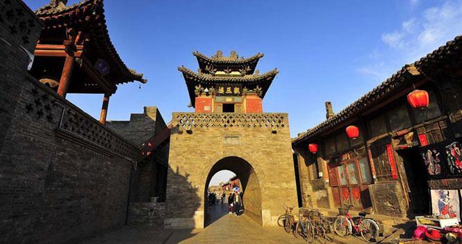 Walled city of Pingyao, China
