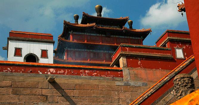 Puningsi Temple Chengde in Luxury China Travel
