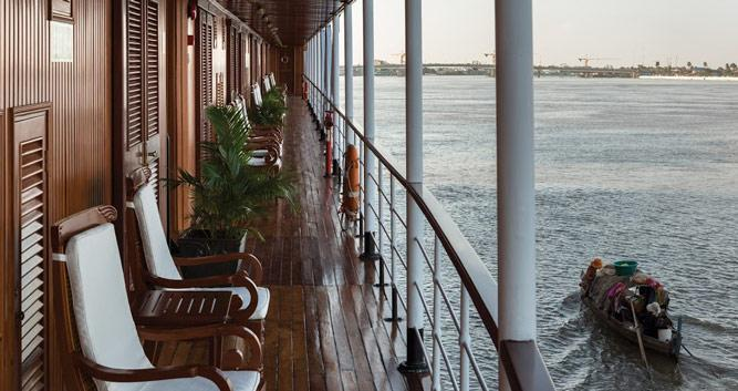 RV Mekong, Pandaw Mekong cruise, Vietnam