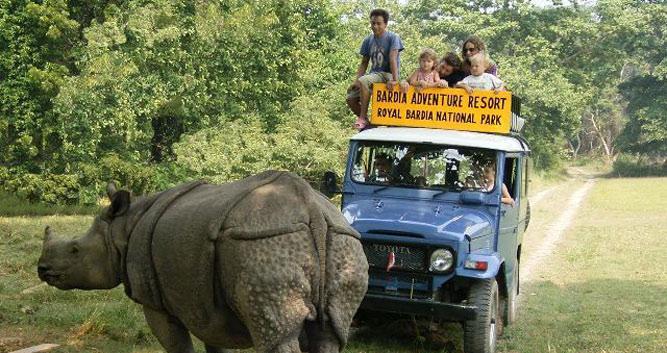 Rhino-Bardia-National-Park-Luxury-Nepal-Wildlife-Holidays
