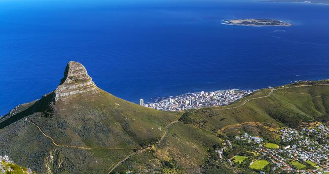 Robben Island and Lions Head