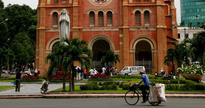 Notre Dame Cathedral, Saigon, Vietnam