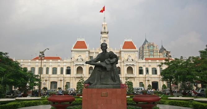 People's commitee building, Saigon, Vietnam