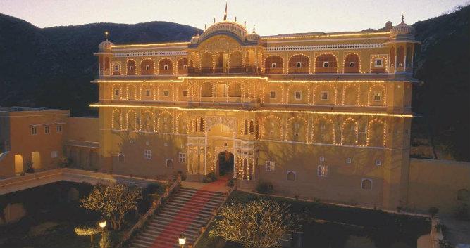Samode Palace, Samode, India